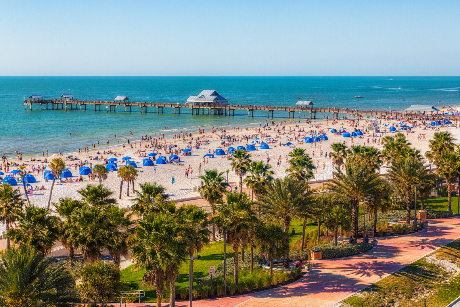Clearwater-Beach-Spring-Break-from-Above-Updated-Again
